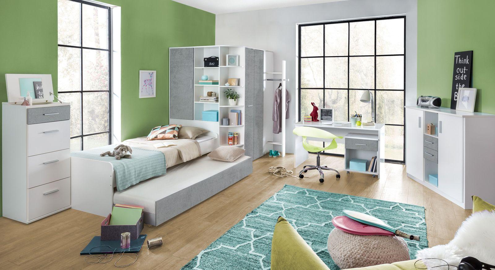 Jugendzimmer Porvenir mit passenden Möbeln