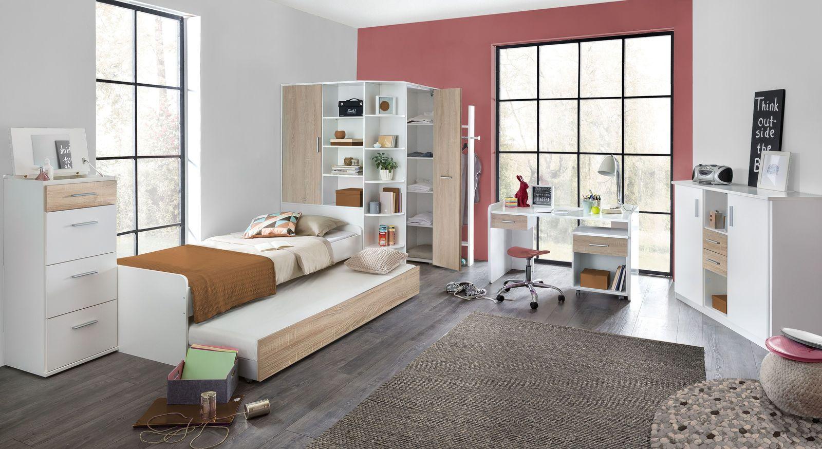 Schlichtes und funktionales Jugendzimmer Solero