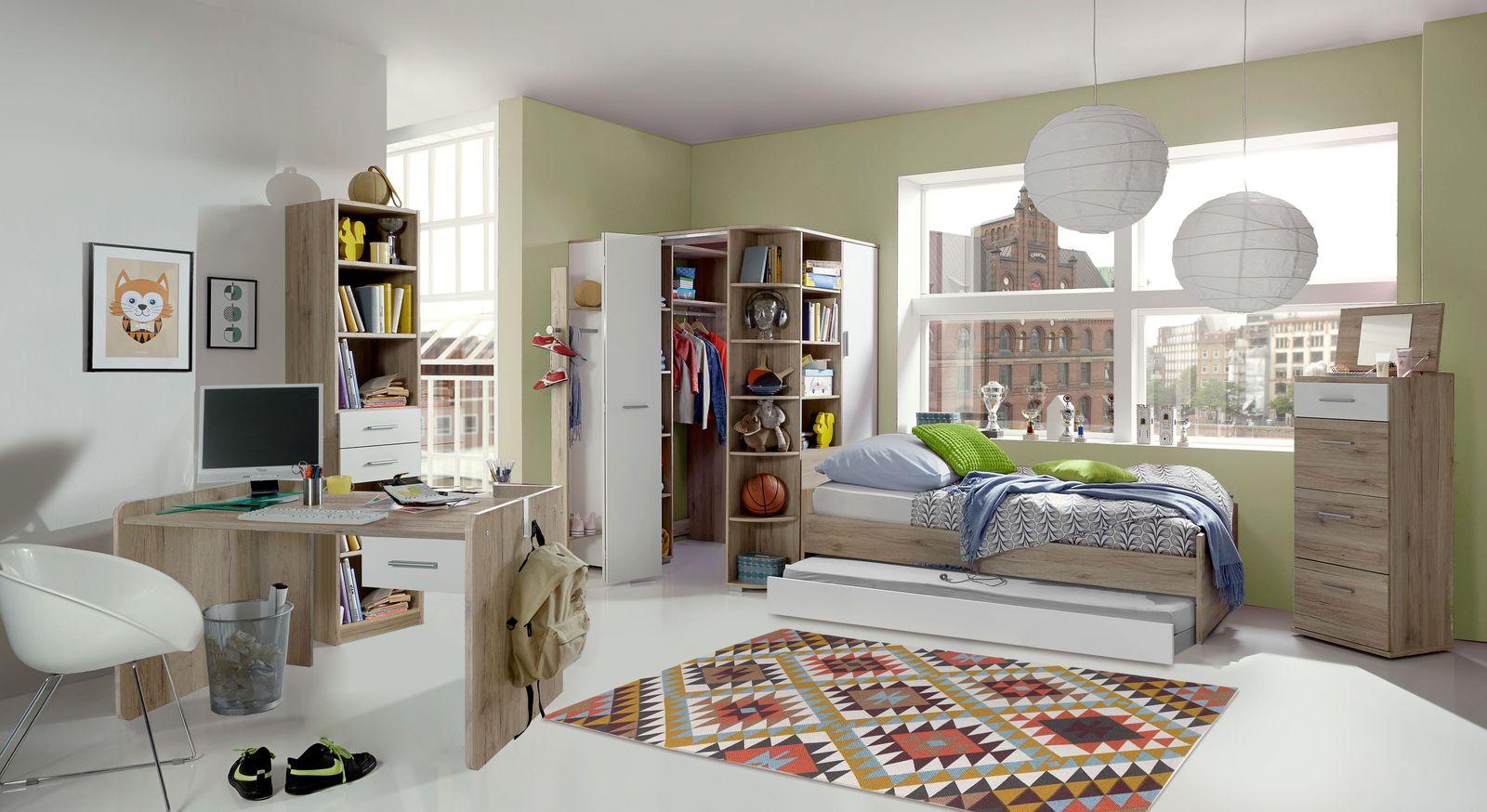 Jugendzimmer Zagra mit Möbeln aus MDF