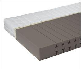 Kaltschaum-Matratze CleverSleep Comfort mit ergonomischen Einschnitten