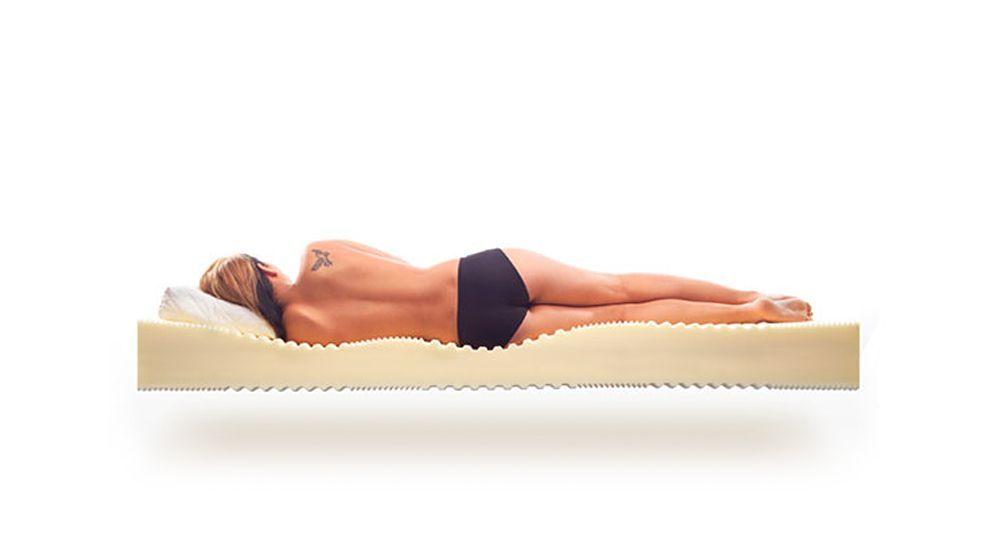 Kaltschaum-Matratze Lineavita Basic mit Komfort-Zonen