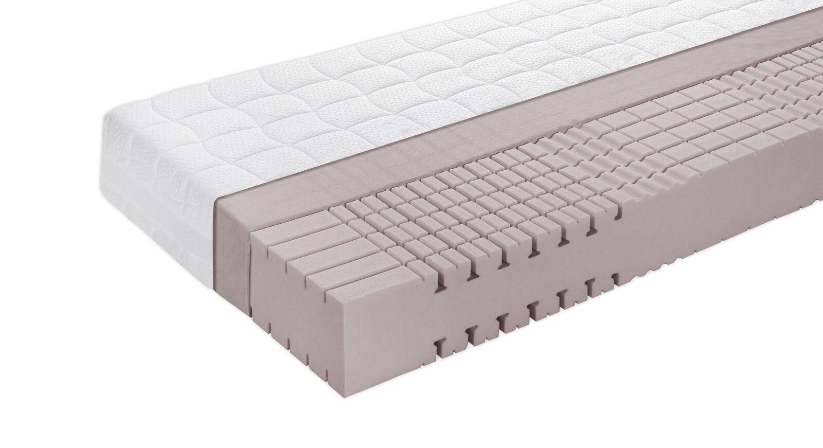 Kaltschaum-Matratze orthowell comfort mit 3D-Würfelschnitt