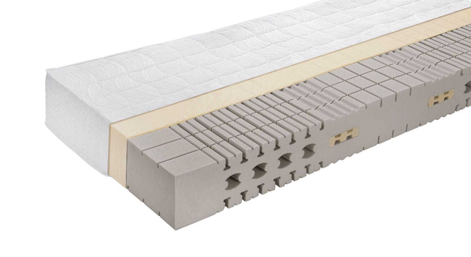Kaltschaum-Matratze orthowell luxus mit optimaler Anpassung