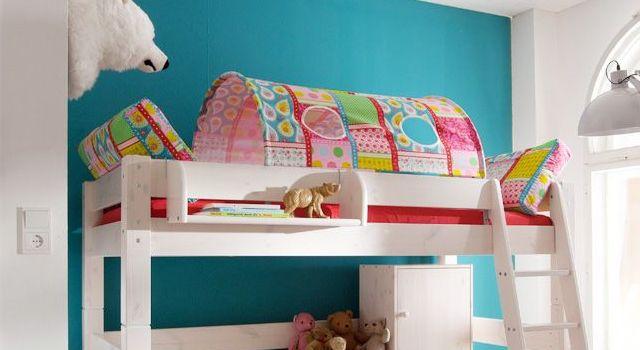 Farbenfrohe Kissen Kids Paradise Butterfly für Mädchenzimmer