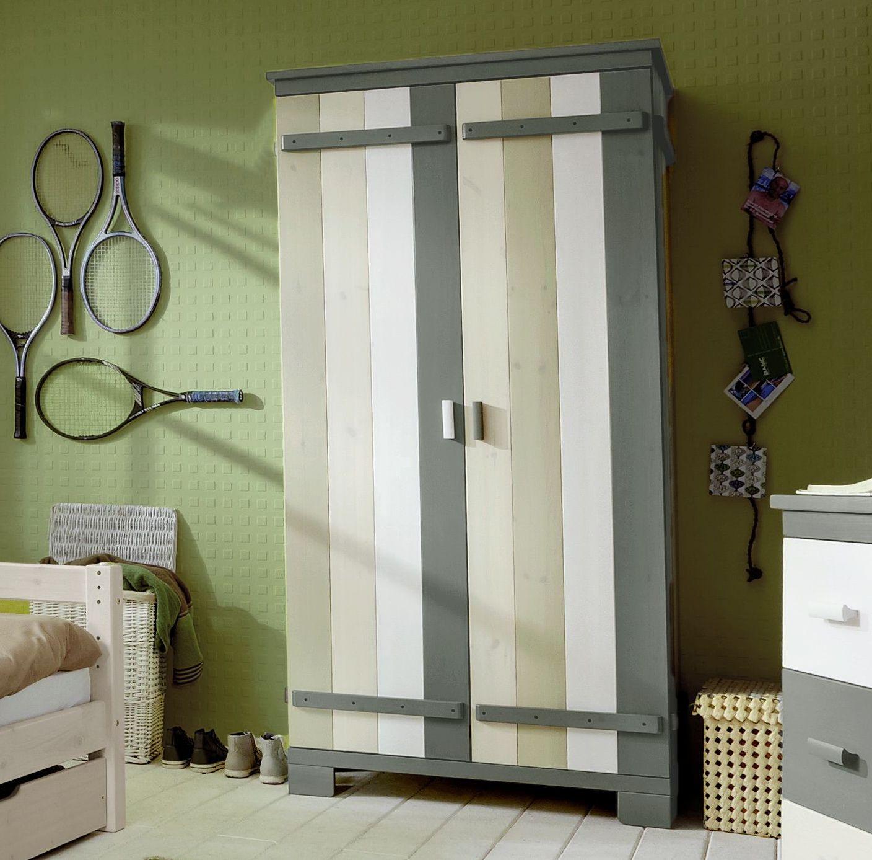 Kinderzimmer Kleiderschrank Laubhutte Aus Massivholz