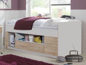 jugendbetten mit stauraum und bettkasten hier kaufen. Black Bedroom Furniture Sets. Home Design Ideas