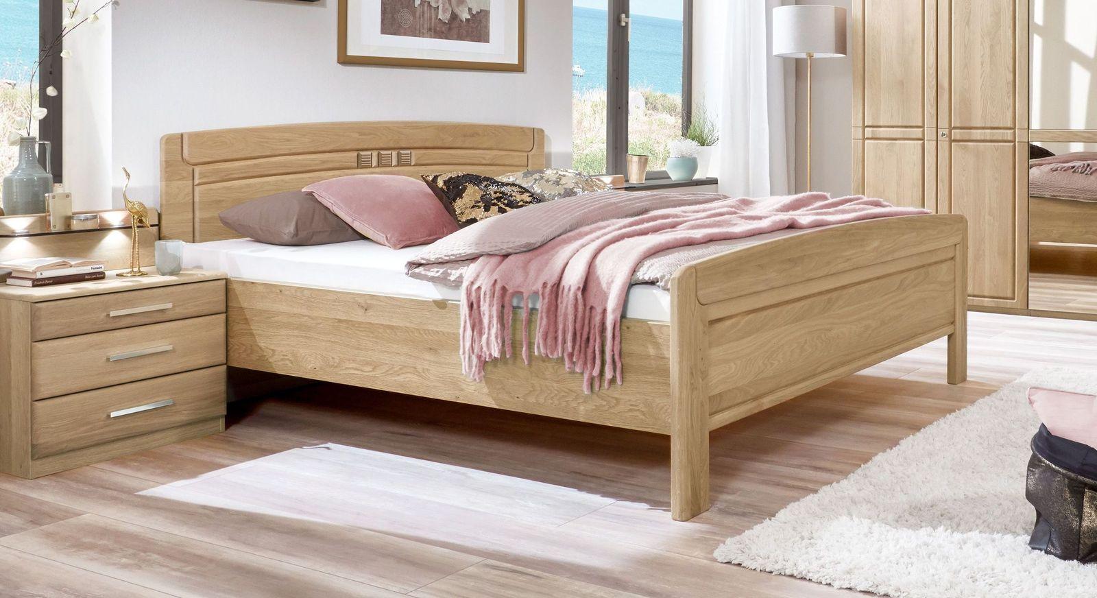 Komfort-Doppelbett Bloomfield mit angenehmer Einstiegshöhe