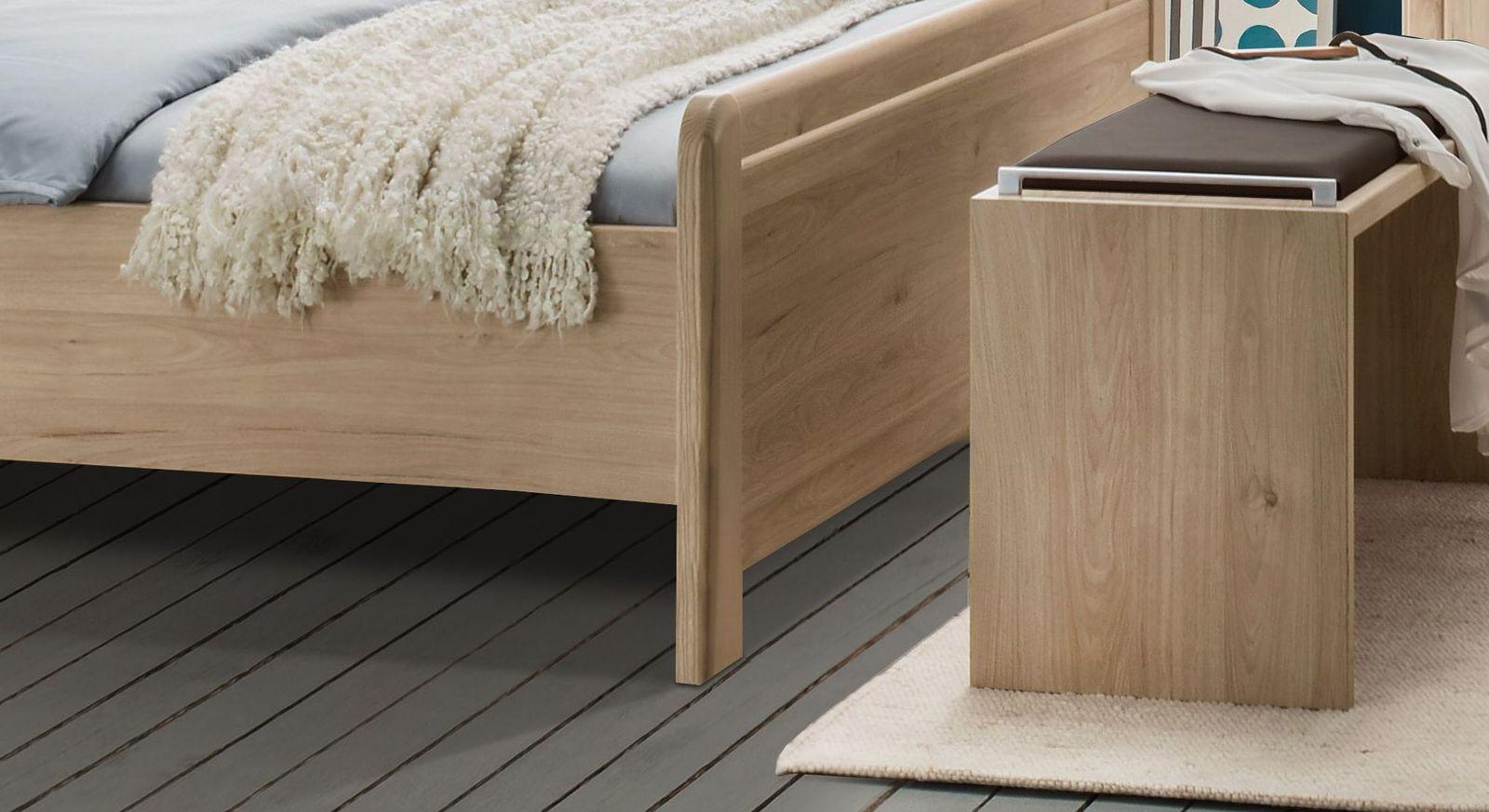 Komfort-Doppelbett Telford mit leicht erhöhtem Fußbereich