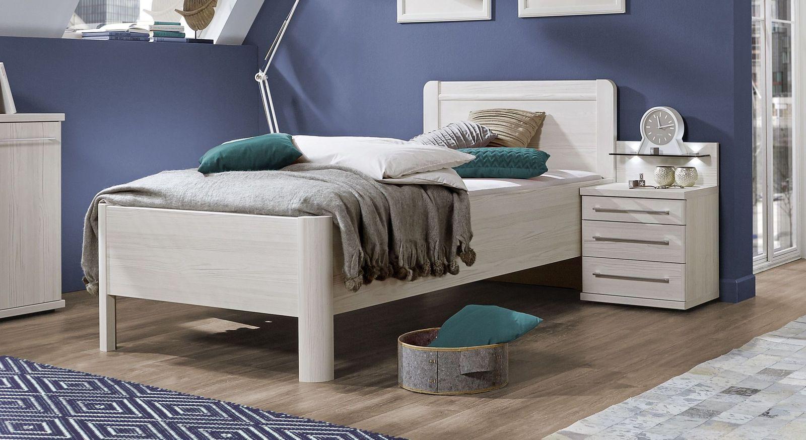 Komfort-Einzelbett Apolda mit abgerundeten Kanten