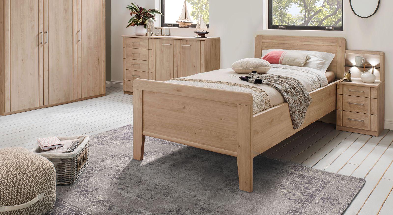 Komfort-Einzelbett Herdorf in schlichtem Design