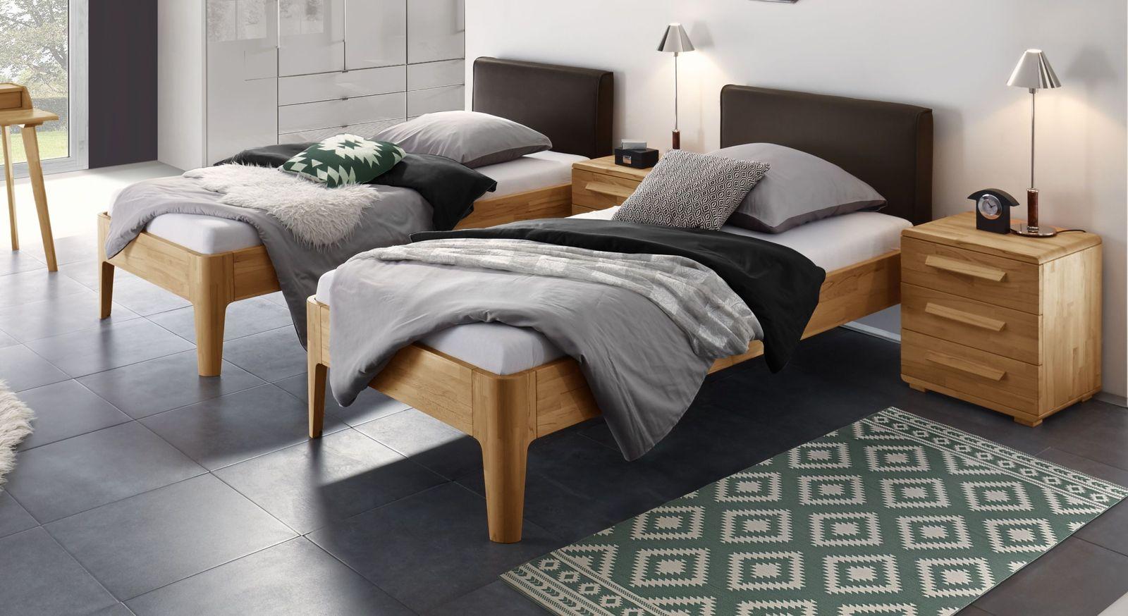 Komfort-Einzelbett Pavora mit hohem Einstieg