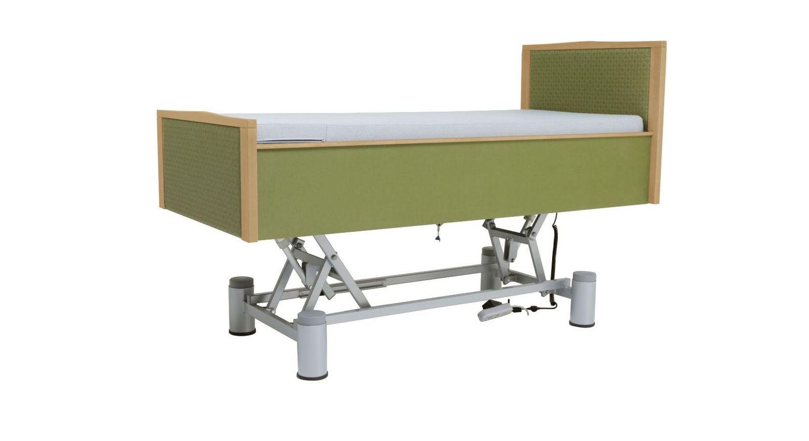 Komfortbett mit Pflegebett-Funktion mit elektrischer Verstellung