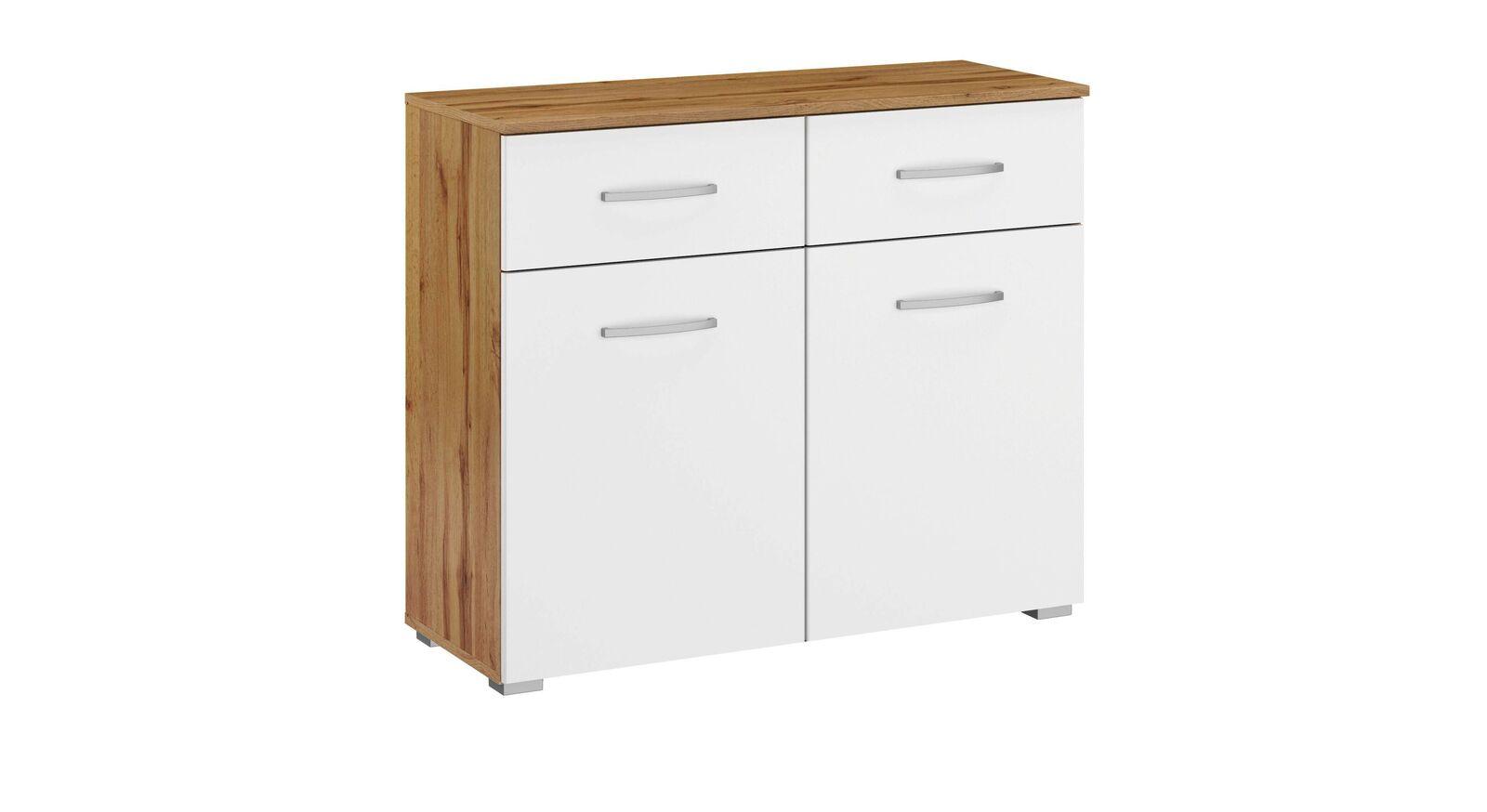Kommode Sedina mit 2 Türen und 2 Schubladen