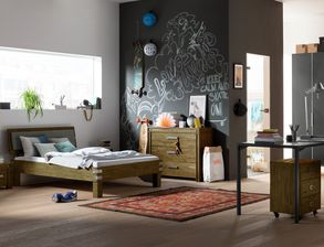 Komplett Jugendzimmer Felipe Mit Rustikalen Möbeln