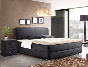 schlafzimmer in schwarz f r klassisch elegante r ume. Black Bedroom Furniture Sets. Home Design Ideas