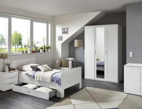 senioren schlafzimmer komplett mit einzel oder doppelbett. Black Bedroom Furniture Sets. Home Design Ideas