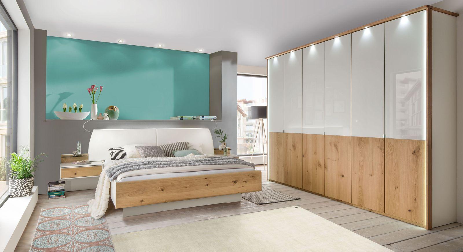 Komplett-Schlafzimmer Briston mit passenden Möbeln