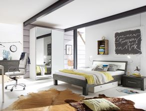schlafzimmer aus massivholz g nstig kaufen. Black Bedroom Furniture Sets. Home Design Ideas