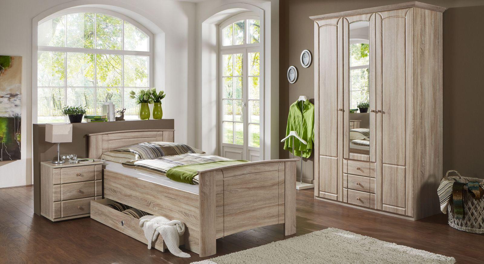 Preiswertes Komplett Schlafzimmer Carpina Fur Senioren Geeignet