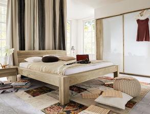 Rustikales Komplett Schlafzimmer Imst Aus Wildeiche
