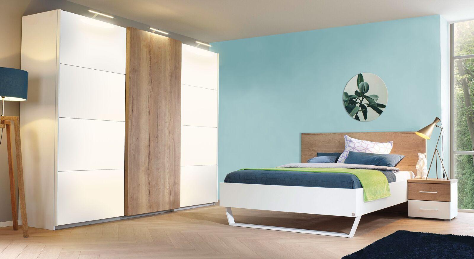 Komplett-Schlafzimmer Lania in schlichtem Design