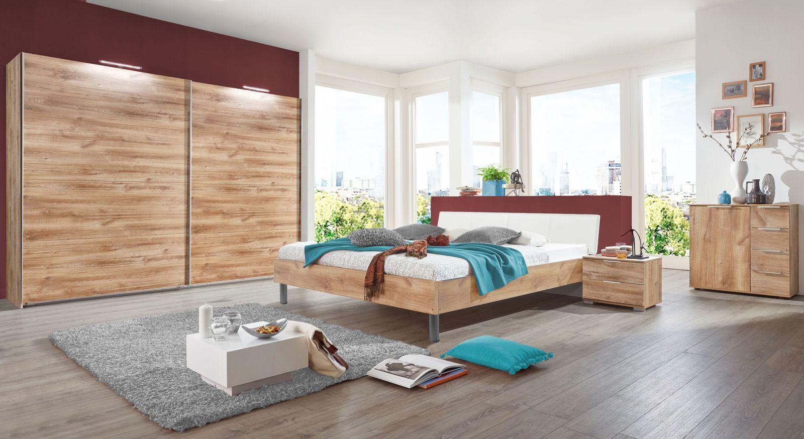 Komplett-Schlafzimmer Loano in Plankeneiche Dekor