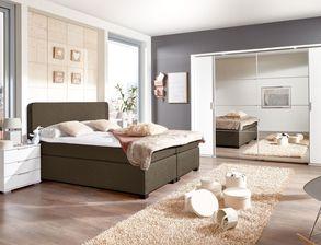 Schlafzimmer komplett mit Boxspringbett kaufen auf BETTEN.at