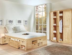 Schlafzimmer aus Massivholz günstig kaufen | BETTEN.at
