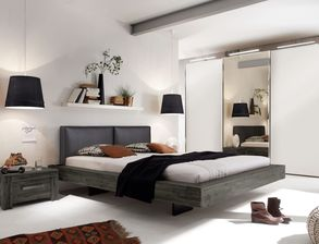 schlafzimmer im industrial style und look online kaufen. Black Bedroom Furniture Sets. Home Design Ideas