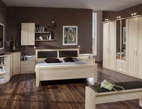 Komplett Schlafzimmer Rapino Mit Dekor Möbeln
