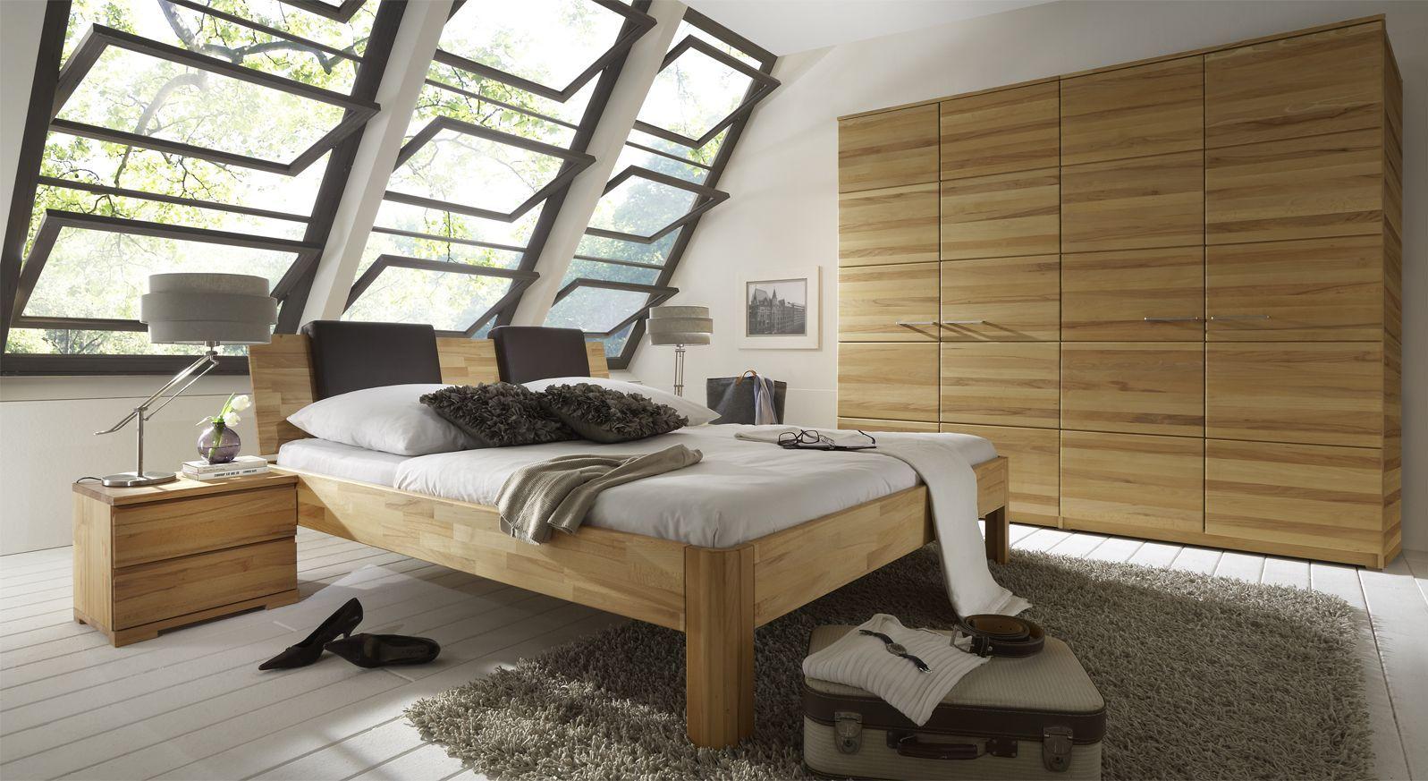 Komplett Schlafzimmer Mit Bett In Z.B. 140x200 Cm