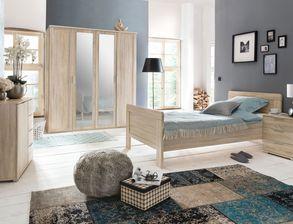 Preiswertes Komplett Schlafzimmer Sinello In Schlichtem Design