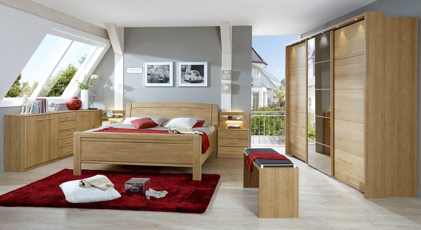 Komplettschlafzimmer Quebo im komfortablen Landhausstil