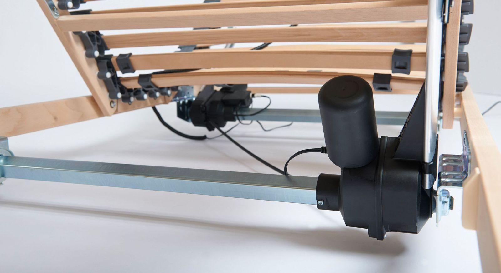 Lattenrost electroflex mit leisem Motor
