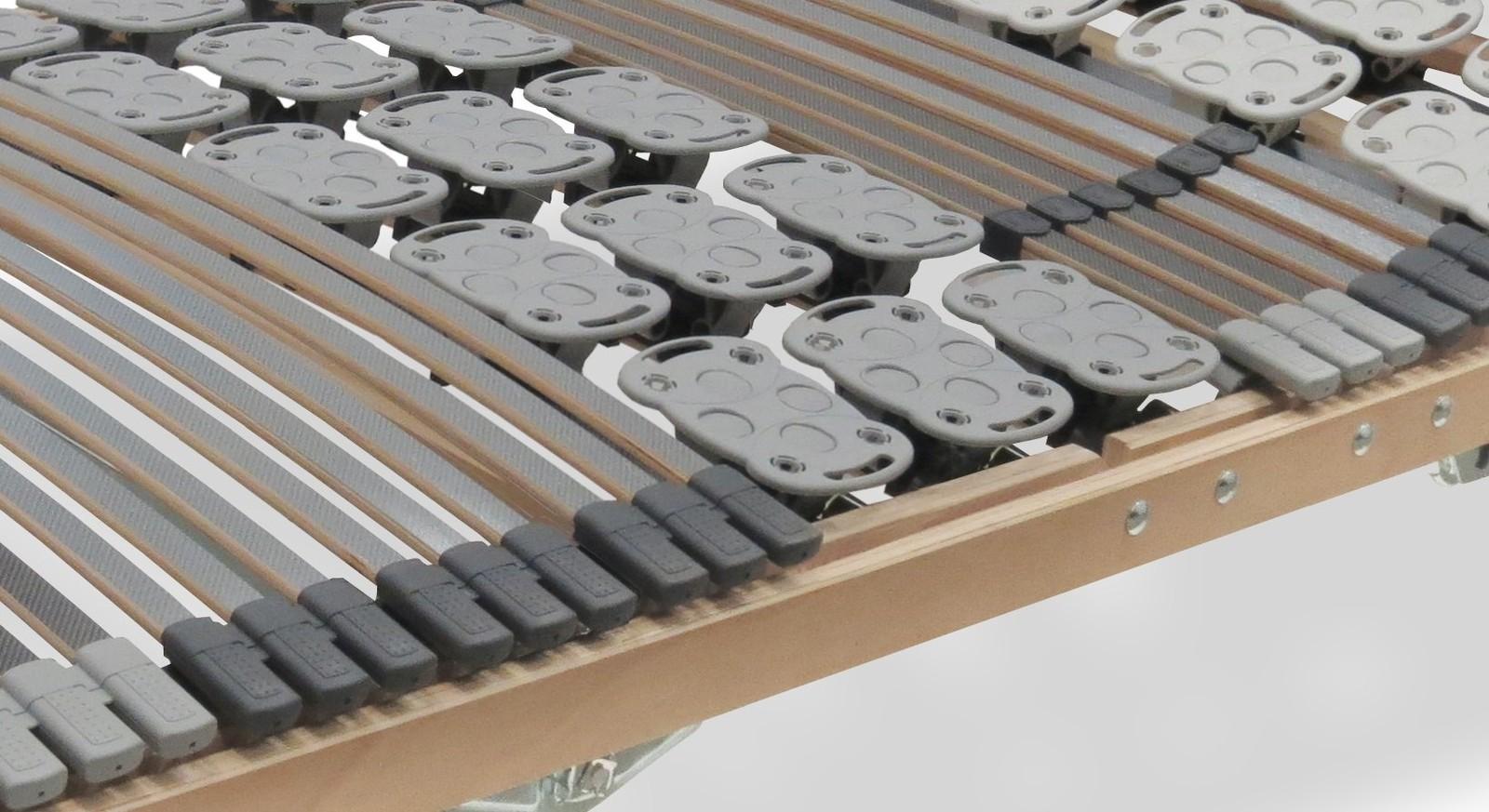 Lattenrost orthowell kombiflex motor mit flexiblen Tellermodulen
