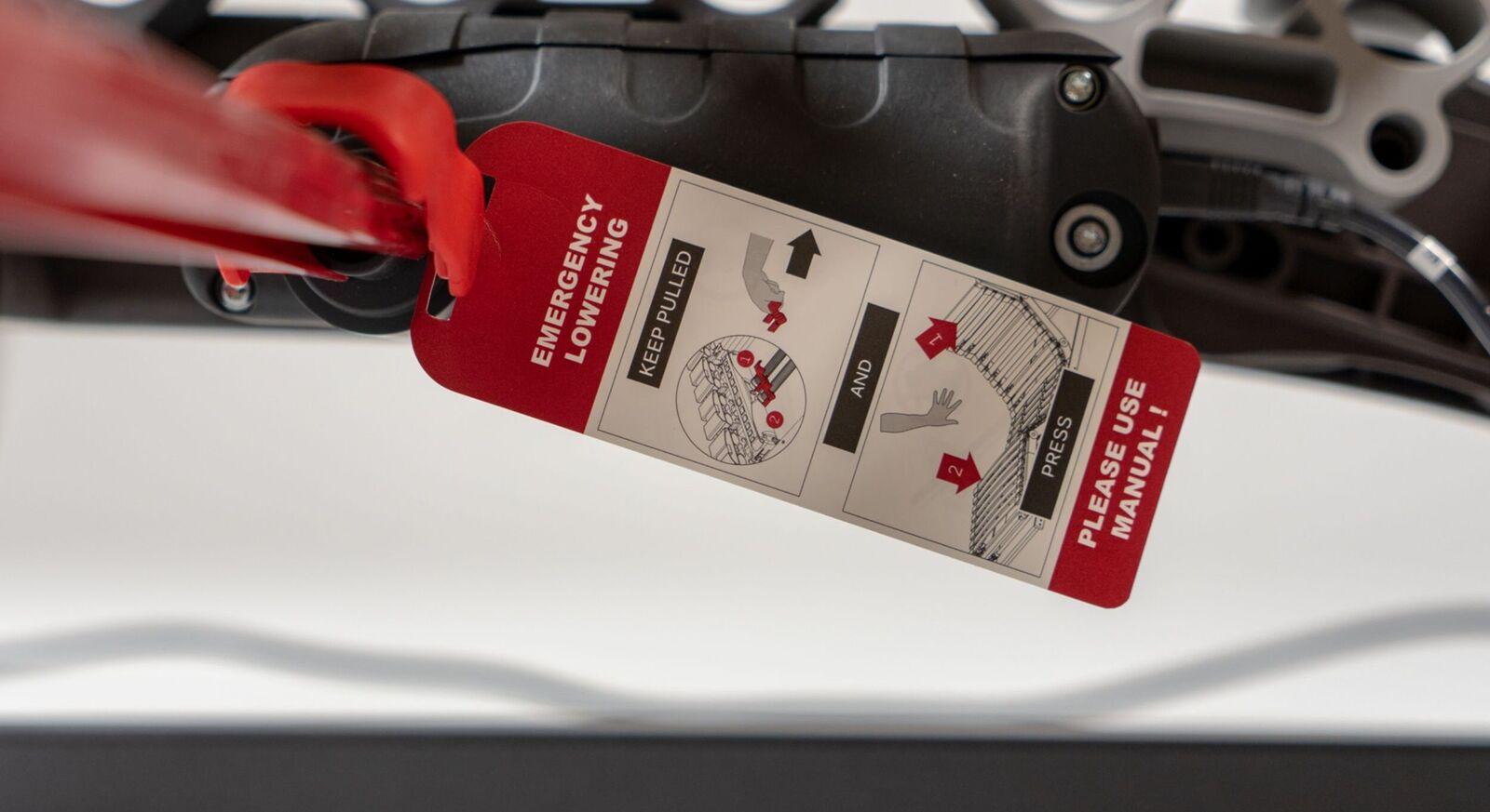 Lattenrost orthowell royalflex XL motor mit Notfall-Absenkung