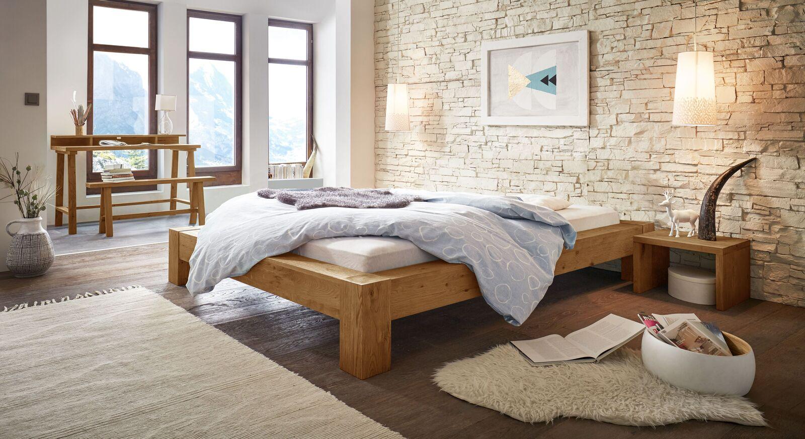 Liege Rustico mit passenden Schlafzimmermöbeln