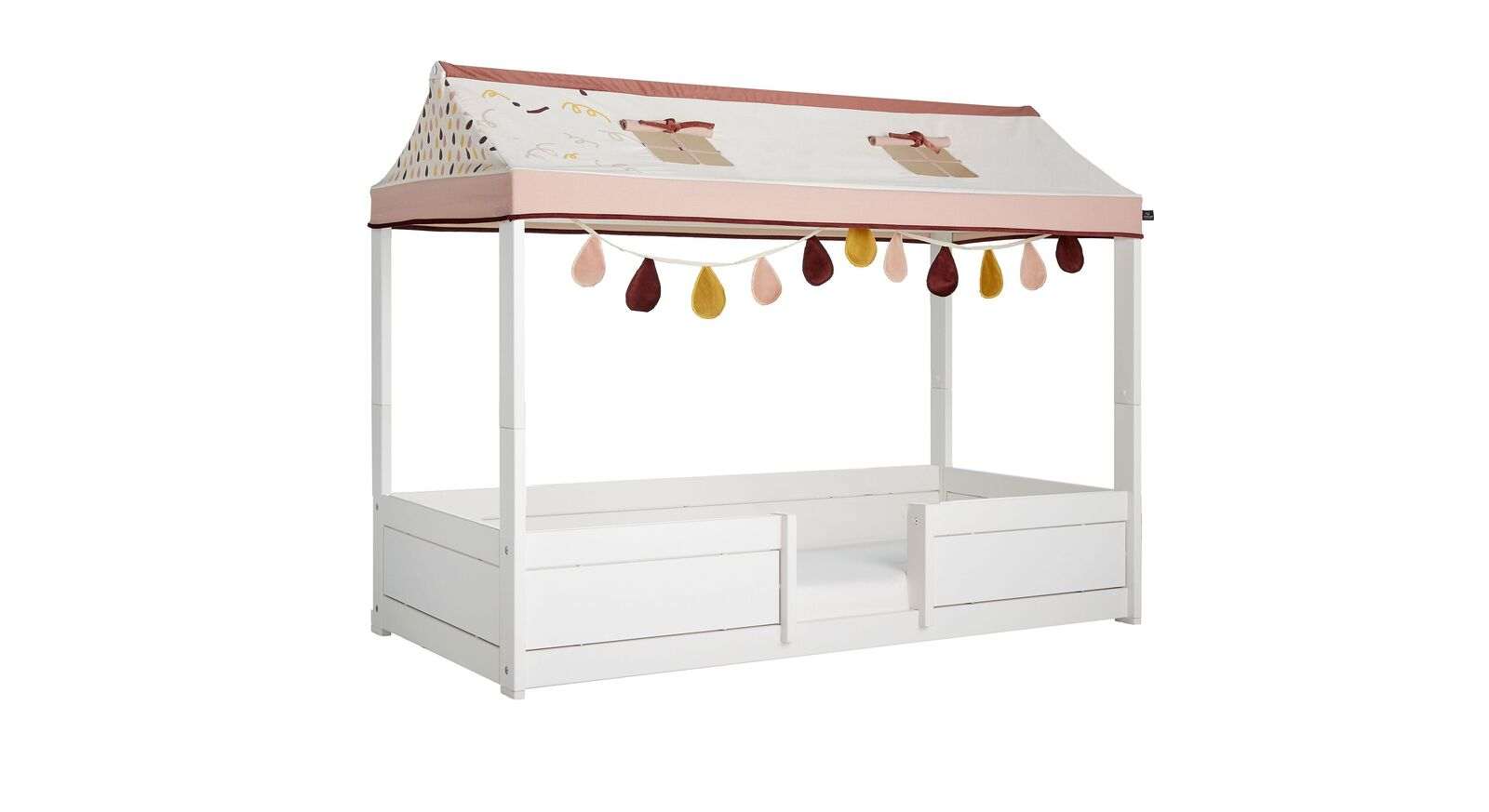 LIFETIME Kinderbett 4-in-1 Funland mit Fenstern im Stoffdach