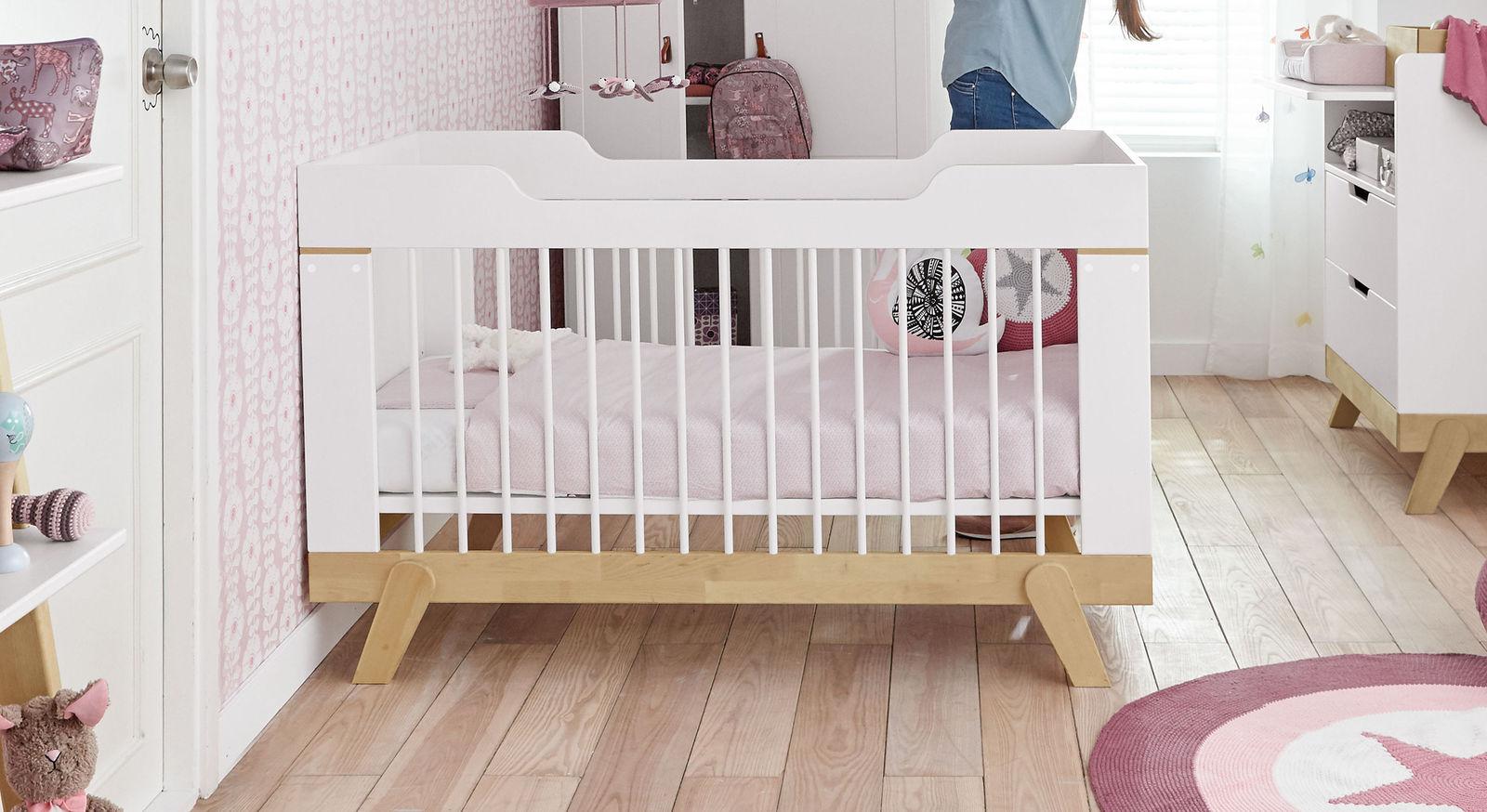 LIFETIME Babybett Monina inklusive Roll-Lattenrost