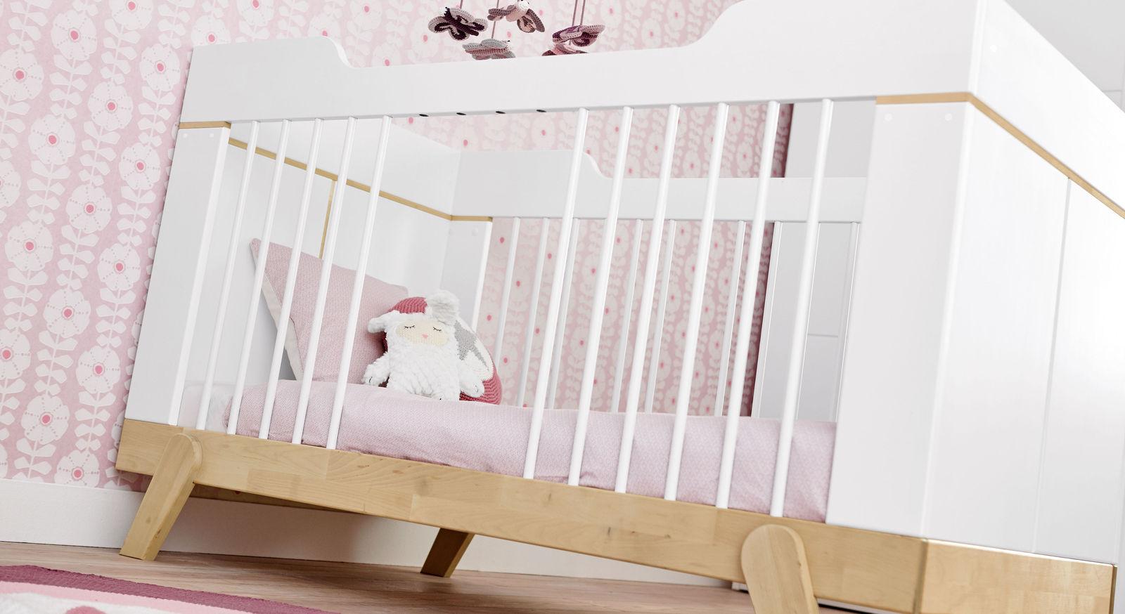 LIFETIME Babybett Monina inklusive Schlupfsprossen