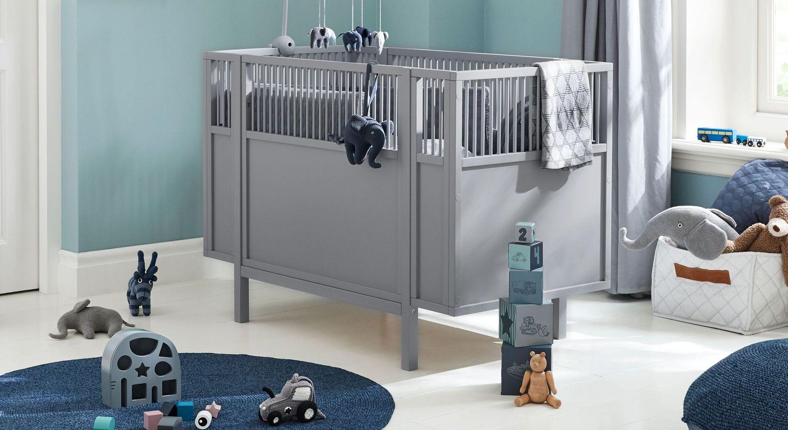 Hochwertiges LIFETIME Babybett Retro für moderne Kinderzimmer