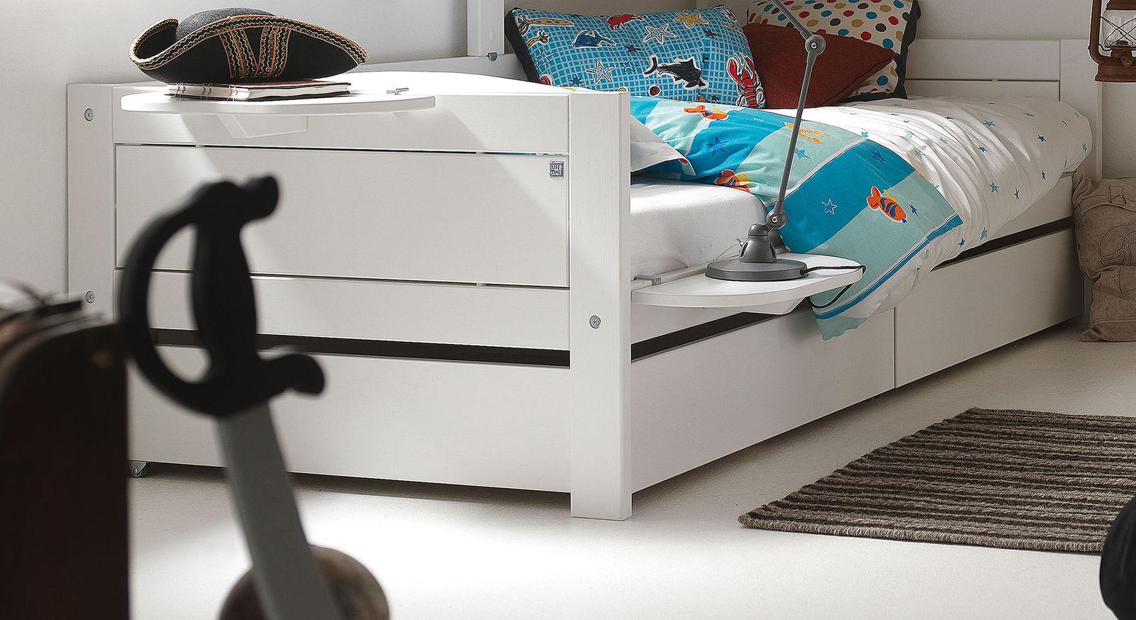 LIFETIME Bettschubkästen Original als praktischer Stauraum unterm Bett