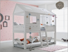 halbhohe betten f r kleinkinder g nstig kaufen. Black Bedroom Furniture Sets. Home Design Ideas