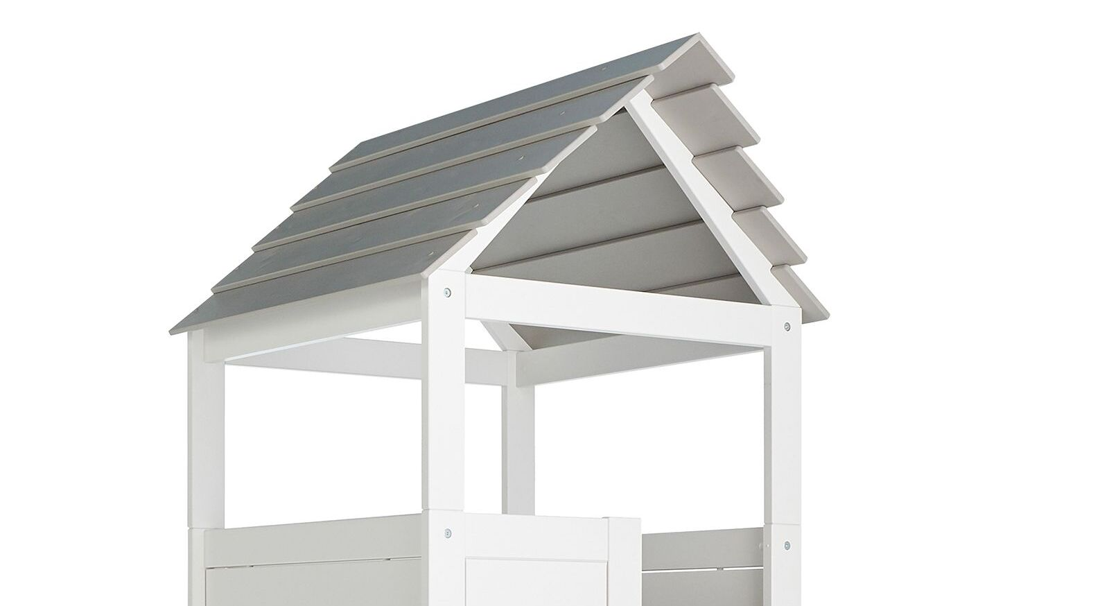 LIFETIME Kinderbett Play Tower mit grauem Dach