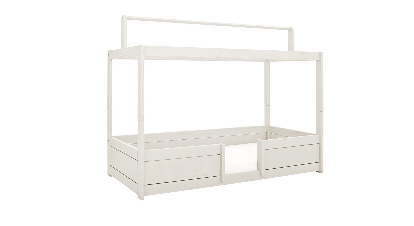 LIFETIME Kinderbetten 4-in-1 aus weiß lasierter Kiefer