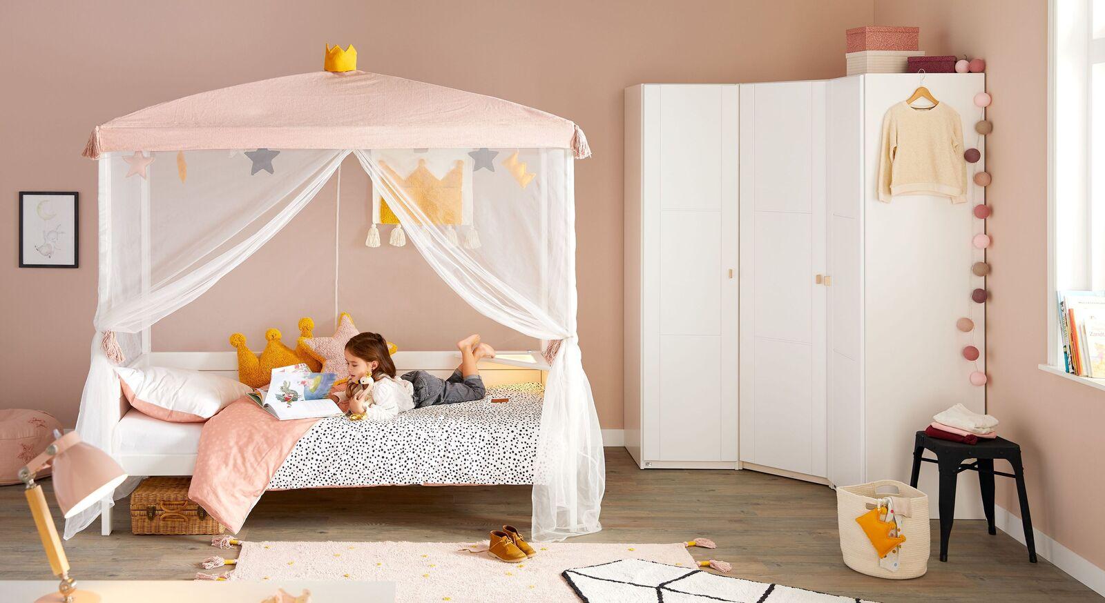 LIFETIME Kinder-Himmelbett Princess für Mädchenzimmer