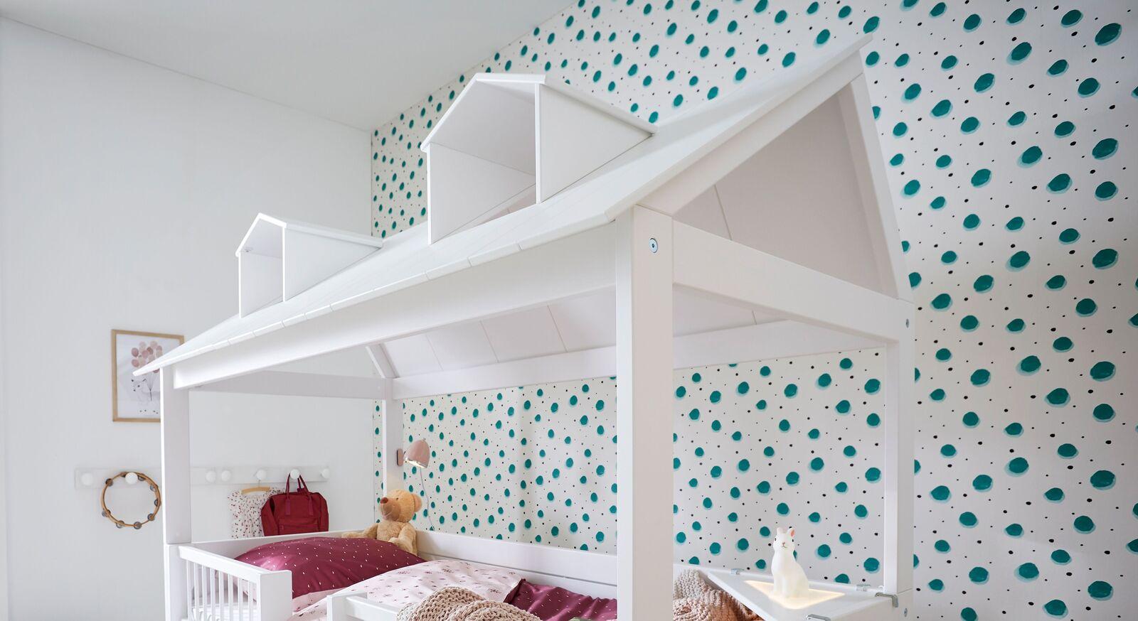 LIFETIME Kojenbett Beachhouse mit verspielten Dachgauben
