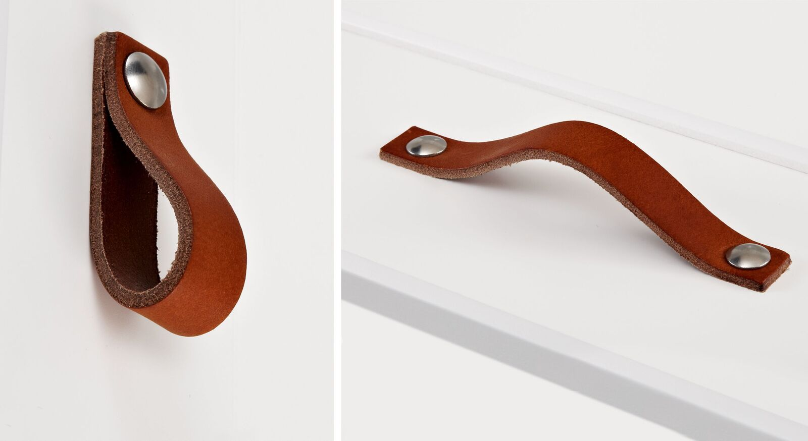 LIFETIME Ledergriffe für Holzmöbel