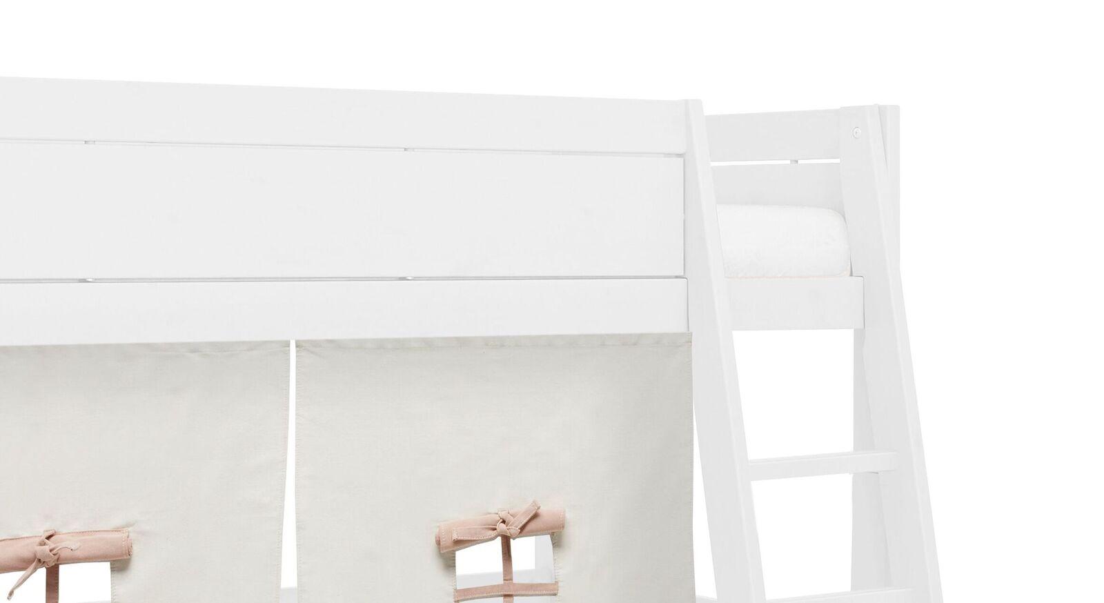 Modernes weiß lackiertes LIFETIME Midi-Hochbett Funland