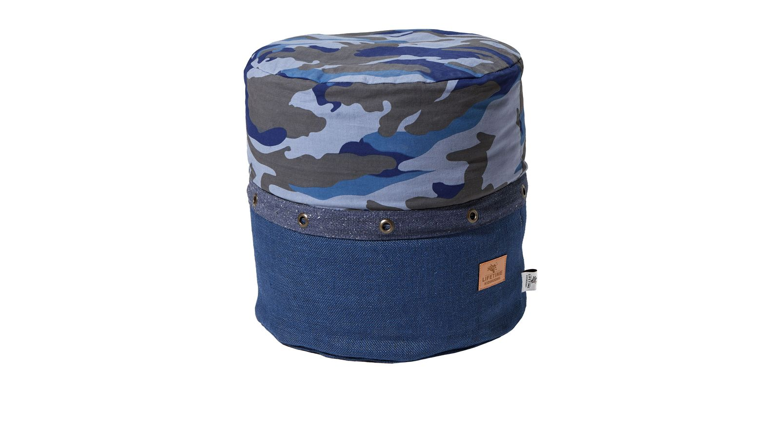 Tremdiges LIFETIME Sitzkissen Camouflage-Pouf